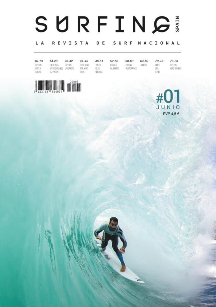 Surfing Spain Magazine portada
